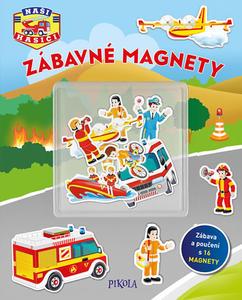 Obrázok Zábavné magnety Naši hasiči