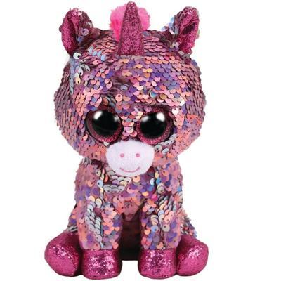 Obrázok Beanie Boos Flippables Sparkle jednorožec 24 cm