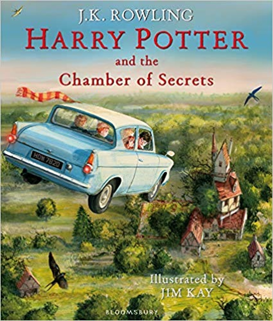 Harry Potter and the Chamber of Secrets (Illustrated Edition) - Joanne K. Rowlingová
