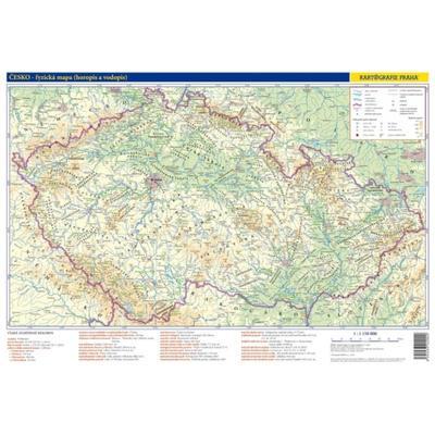 Obrázok Česko Příruční mapa