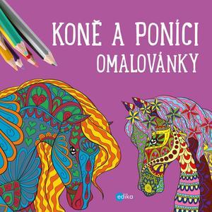 Obrázok Koně a poníci - omalovánky