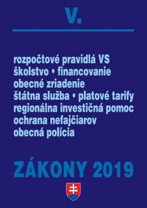 Obrázok Zákony 2019 V.