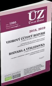 Obrázok ÚZ 1295 Vzorový účtový rozvrh 2018, 2019, Rozvaha a výsledovka 2018, 2019