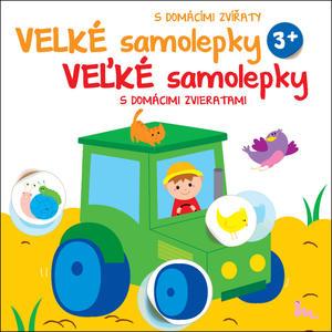 Obrázok Velké samolepky s domácími zvířaty Traktor
