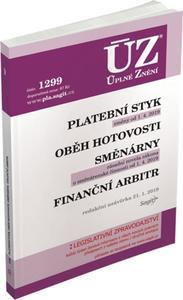 Obrázok ÚZ 1299 Platební styk, oběh hotovosti, směnárny, finanční arbitr