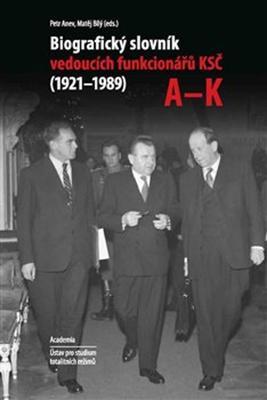 Komplet 2ks Biografický slovník vedoucích funkcionářů KSČ v letech 1921 - 1989