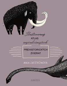 Obrázok Ilustrovaný atlas najčudesnejších prehistorických zvierat