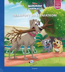 Obrázok Kamaráti havkáči Trampoty so šteniatkom