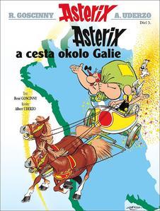 Obrázok Asterix 5 Asterix Cesta okolo Galie