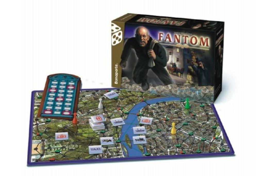 Společenská hra Fantom v krabici