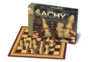 Obrázok Společenská hra Šachy dřevěné