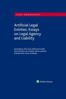 Obrázok Artificial Legal Entities: Essays on Legal Agency and Liability