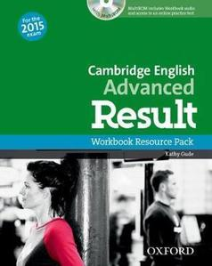 Obrázok Cambridge English Advanced Result Workbook without Key with Audio CD