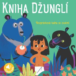 Obrázok Rozprávková kniha so zvukmi Kniha Džungli