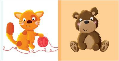 Obrázok Detská knižka Mačka Medveď