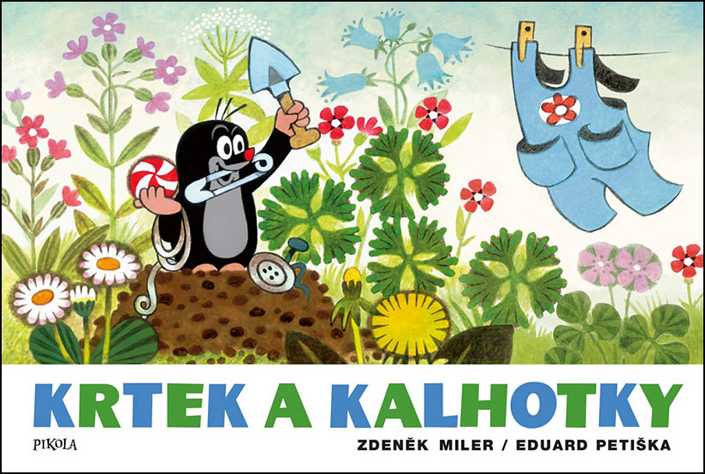 Krtek a kalhotky - Eduard Petiška, Zdeněk Miler