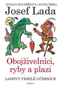 Obrázok Ladovy veselé učebnice Obojživelní, ryby a plazi (4. díl)