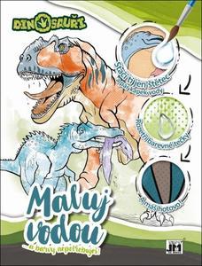 Obrázok Maluj vodou a barvy nepotřebuješ Dinosauři