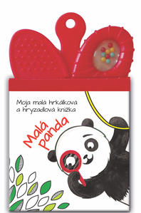 Obrázok Moja malá hrkálková a hryzadlová knižka Malá Panda