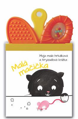 Obrázok Moja malá hrkálková a hryzadlová knižka Malá Mačička