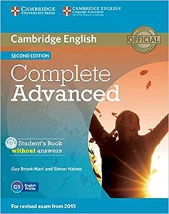 Obrázok Cambridge English Complete Advanced Student´s Book without answers 2nd edition