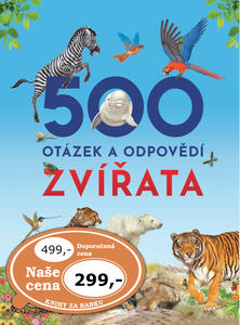 Obrázok 500 otázek a odpovědí Zvířata