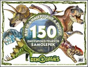 Obrázok Bav se a nalepuj zas a znovu! Dinosauři
