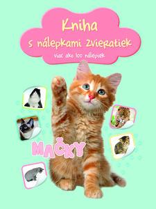 Obrázok Kniha s nálepkami zvieratiek Mačky