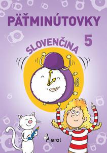 Obrázok Päťminútovky slovenčina 5.ročník