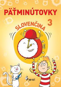Obrázok Päťminútovky slovenčina 3.ročník
