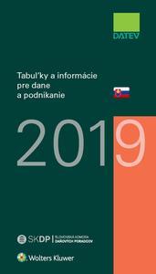 Obrázok Tabuľky a informácie pre dane a podnikanie 2019