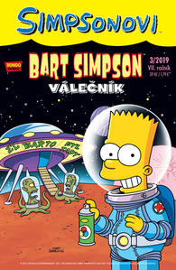 Obrázok Bart Simpson Válečník