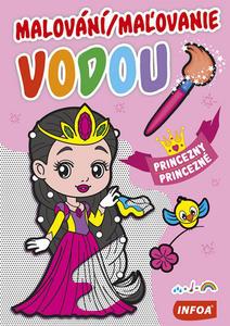 Obrázok Malování/Maľovanie vodou Princezny/Princezné