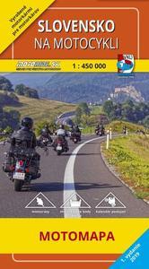 Obrázok Slovensko na motocykli 1:450 000