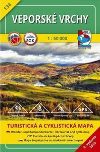 Obrázok Veporské vrchy 1:50 000