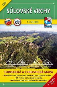 Obrázok Súľovské vrchy 1:50 000