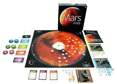 Obrázok Mars 2049 strategická hra