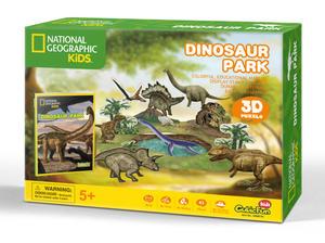 Obrázok Puzzle 3D Dino park NG 43D