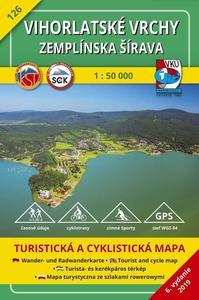 Obrázok Vihorlatské vrchy - Zemplínska šírava 1:50 000