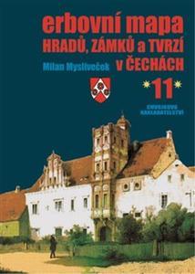 Obrázok Erbovní mapa hradů, zámků a tvrzí v Čechách 11