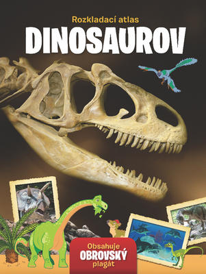 Obrázok Rozkladací atlas Dinosaurov