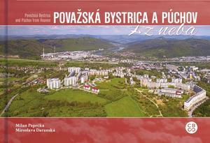 Obrázok Považská Bystrica a Púchov z neba