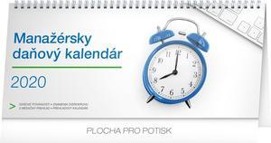 Obrázok Stolový kalendár Manažérsky daňový SK 2020