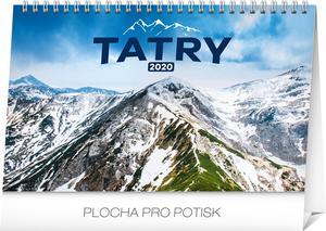 Obrázok Stolový kalendár Tatry 2020