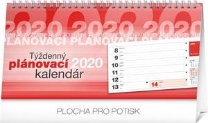 Obrázok Stolový kalendár Plánovací riadkový 2020