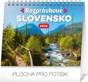 Obrázok Stolový kalendár Rozprávkové Slovensko 2020