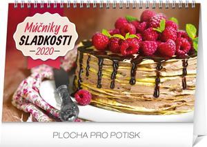 Obrázok Stolový kalendár Múčniky a sladkosti 2020