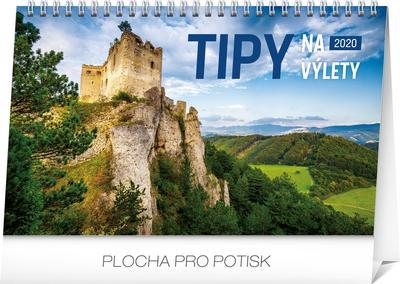 Obrázok Stolový kalendár Tipy na výlety 2020