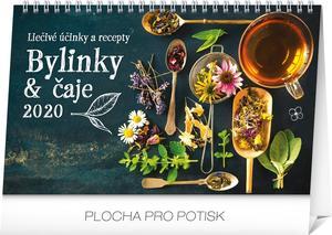 Obrázok Stolový kalendár Bylinky a čaje 2020