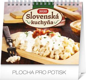 Obrázok Stolový kalendár Slovenská kuchyňa 2020